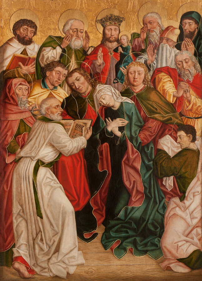 The Death of the Virgin, Master of the Eggelsberger Altar(active Passau c. 1481), Late 15th century