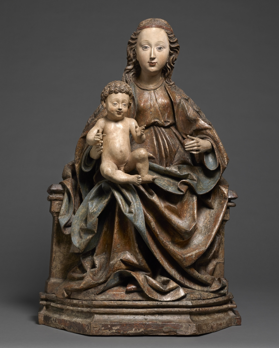 Seated Madonna and Child, The Master of the Schongauer-Altärchens, Germany, Ulm, c. 1480 &ndash