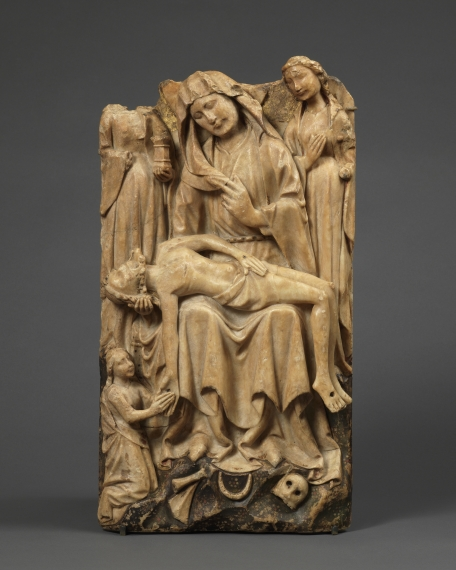 Relief with the Lamentation of Christ, England, Nottingham, 15th century