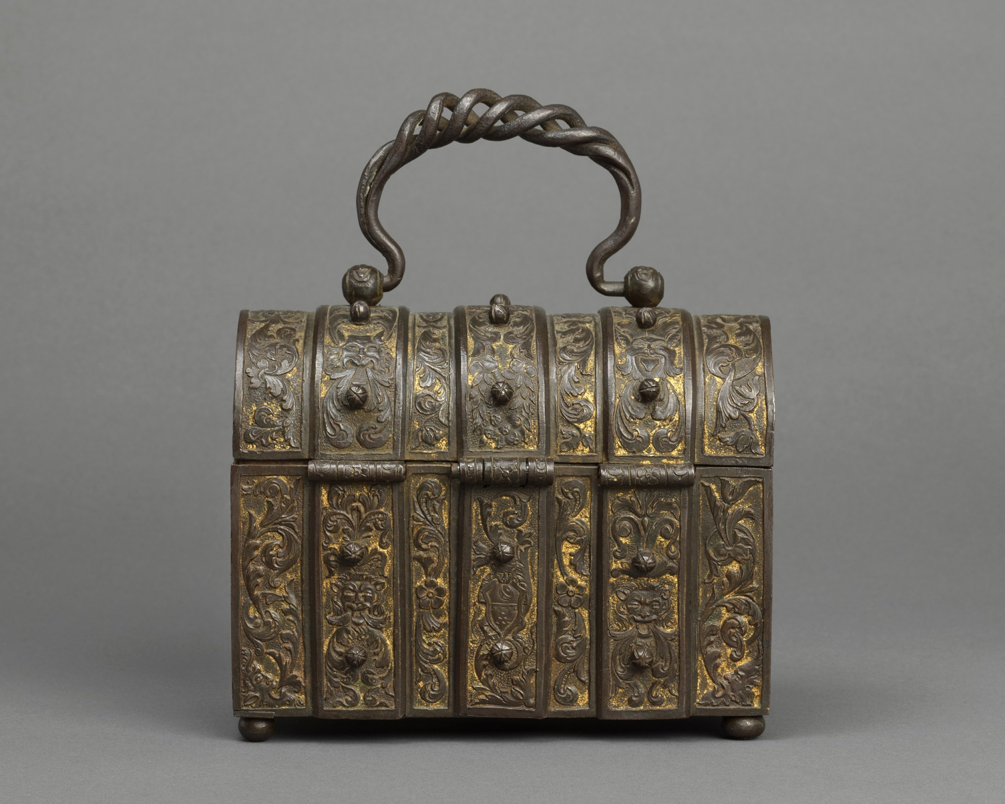 Casket, Italy, Lombardy, second half 16th century