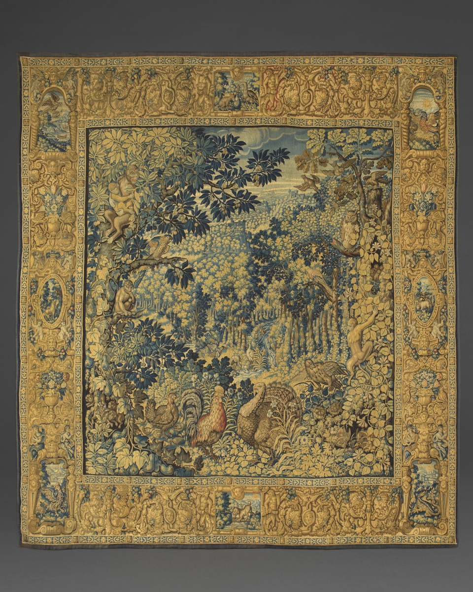 A 'Parc Sauvages' Tapestry, Workshop of Jan RaesFlemish, Brussels, c. 1600