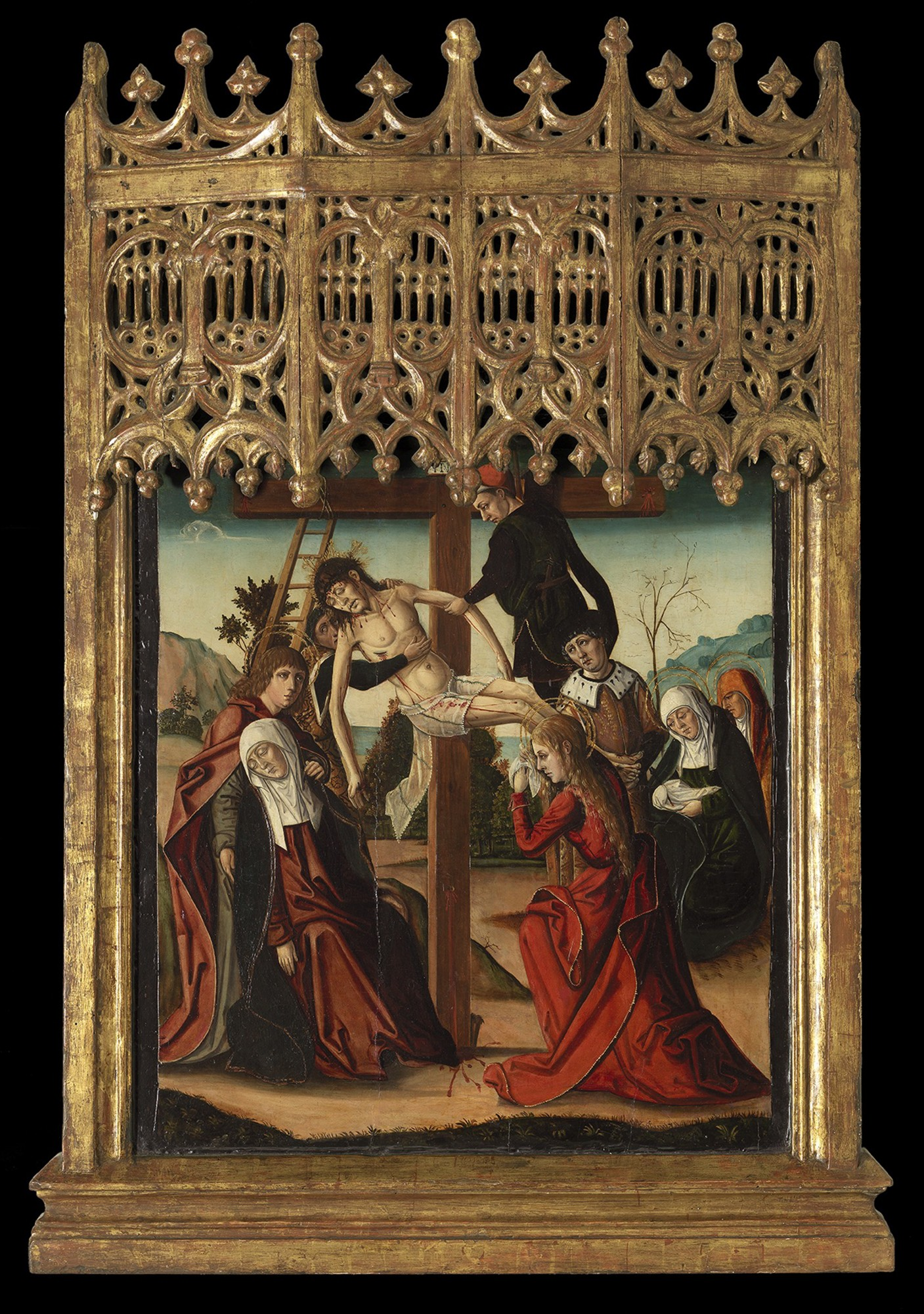 The Descent from the Cross, Francisco de Osona (c. 1465 – Valencia –