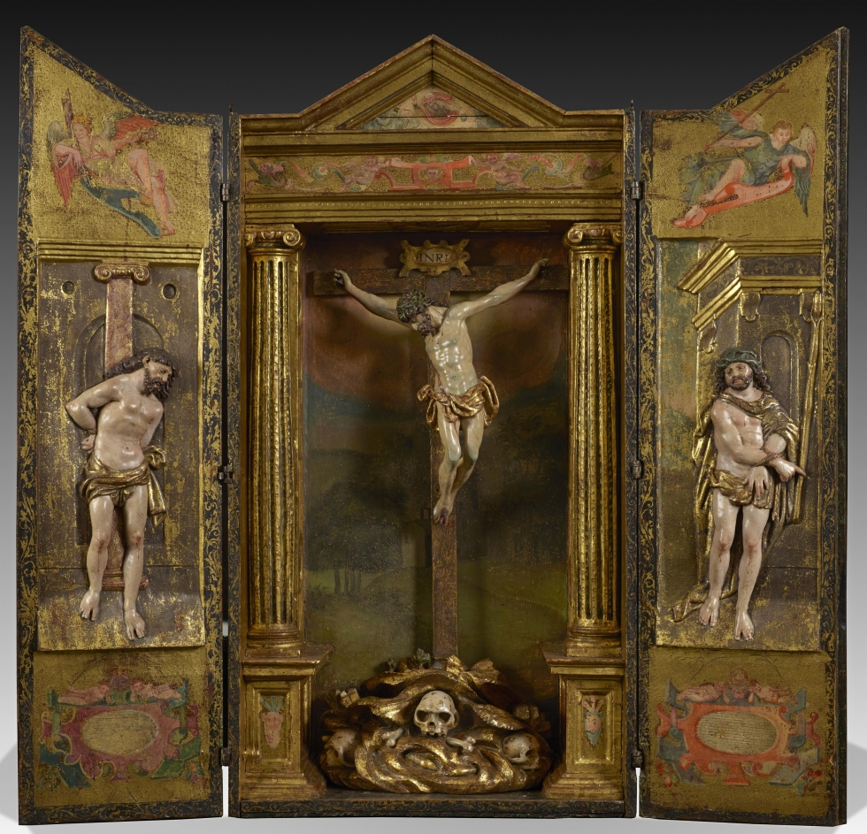 Altarpiece with scenes of the Passion, Juan de Anchieta(Azpeitia, Guipúzcoa, c. 1533 –
