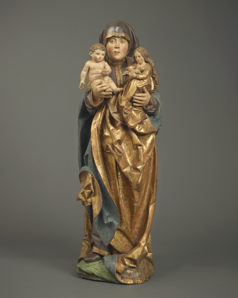 Anna Selbdritt, Southern Germany, Ulm, or Switzerland, Lucerne, c. 1520