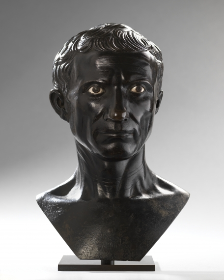 Bust of the Augustan Julius Caesar, Workshop of Pier Jacopo Alari-Bonacolsi, called L'Antico(?