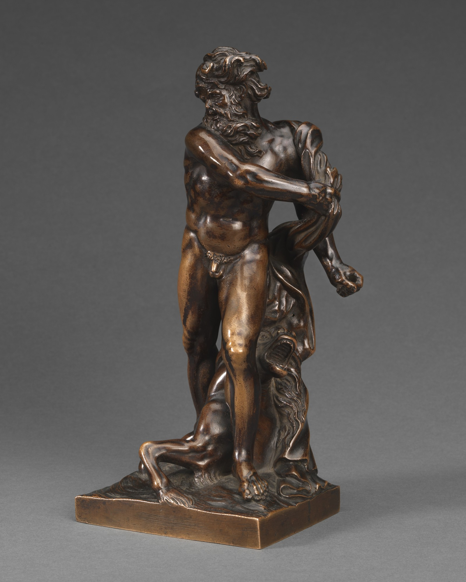 'Agitated' Neptune, Workshop of Michel Anguier(Eu c. 1612-1614 – 1686 Paris),