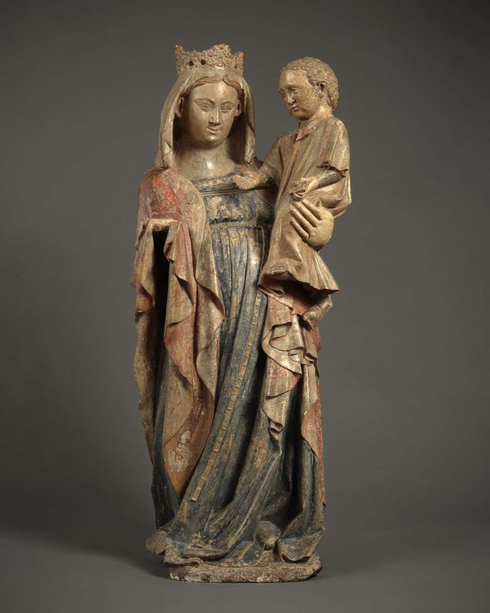 Virgin and Child, France, Mussy sur Seine (Aube), c. 1330