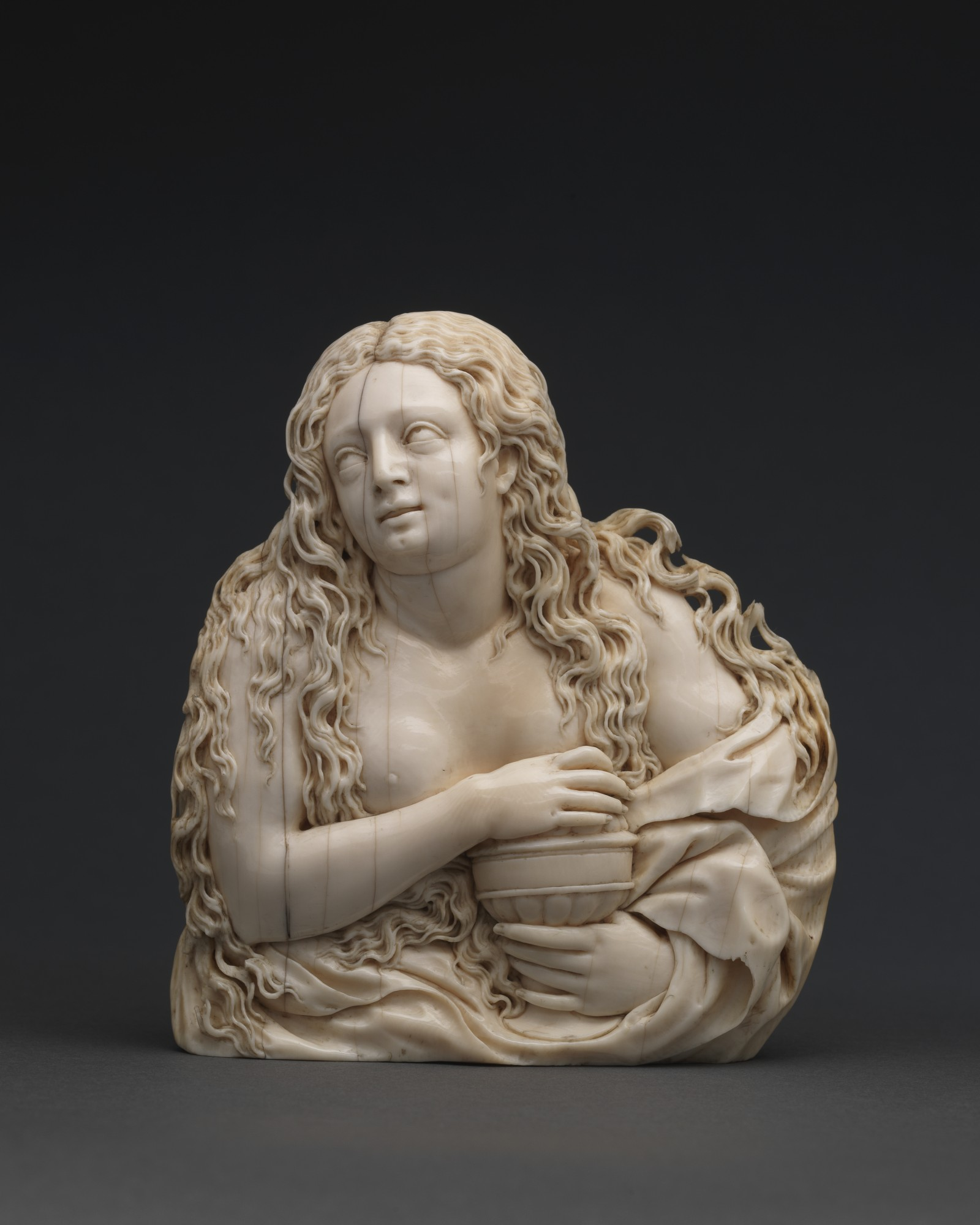 Relief with Mary Magdalene, Southern Germany, mid 17th century