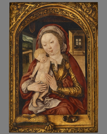 Madonna and Child, The Master of the Mainz Epiphany(active early 16th century), Early 16th century