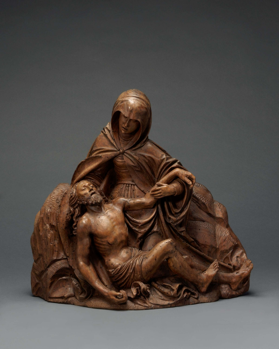 Pietà, Endras Maurus(Kempten c. 1500 – after 1567), Southern Germany, Kempten, c. 1520