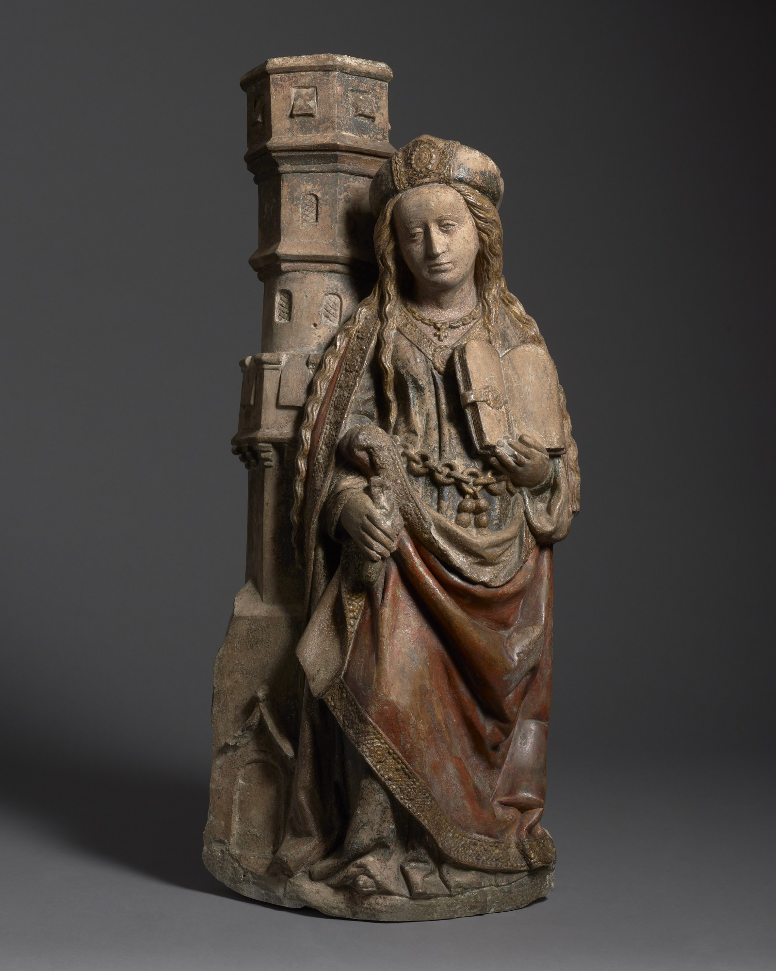 Saint Barbara, France, Lorraine, probably Nancy, late 15th century