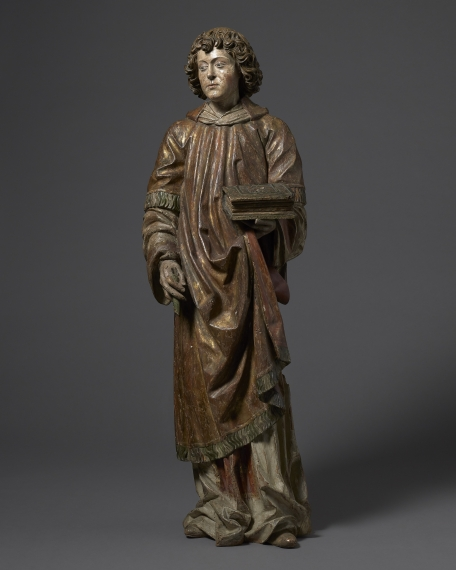 Saint Lawrence, Michael Pacher and workshop (1435 – 1498), Austria, South Tyrol, Bruneck (Pust