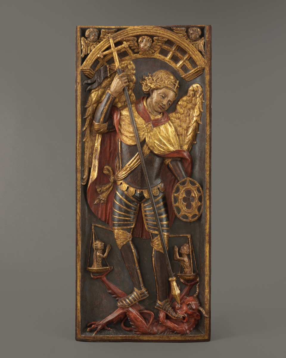 Retable Panel with Saint Geoge and the Dragon, Spain, first quarter 16th century