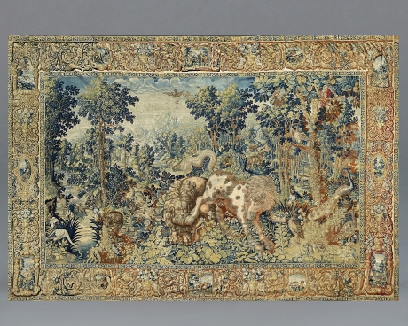 Verdue Tapestry with Animals, Worrkshop of Jan RaesFlemish, Brussels, late 16th century
