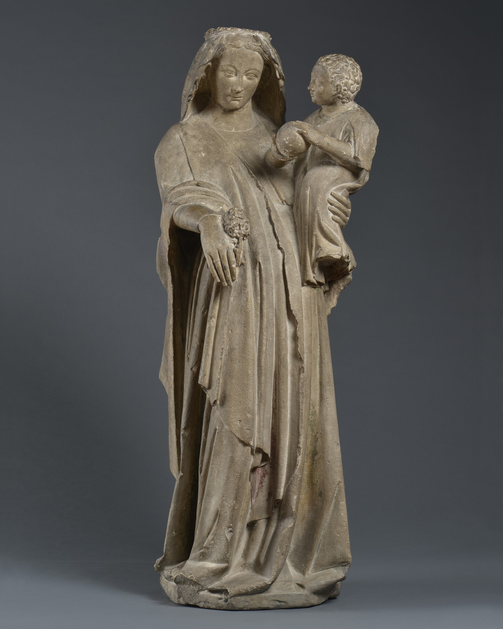 Virgin and Child, France, Mussy sur Seine (Aube), c. 1300 – 1325