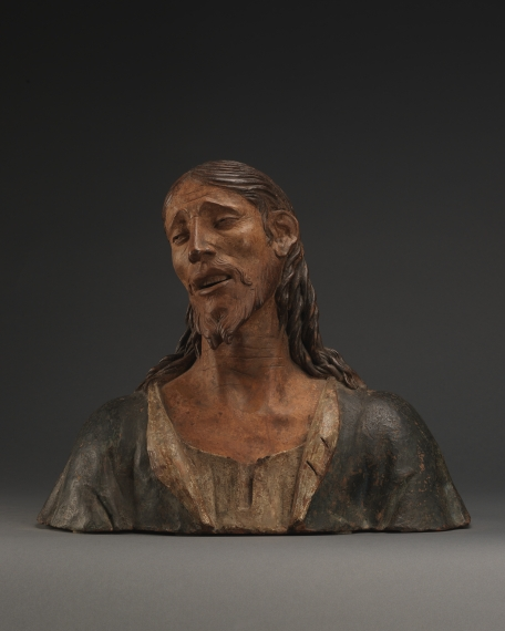 Bust of Christ as the Man of Sorrows, Attributed to Agostino de Fondulis (c. 1450 – 1522?), It