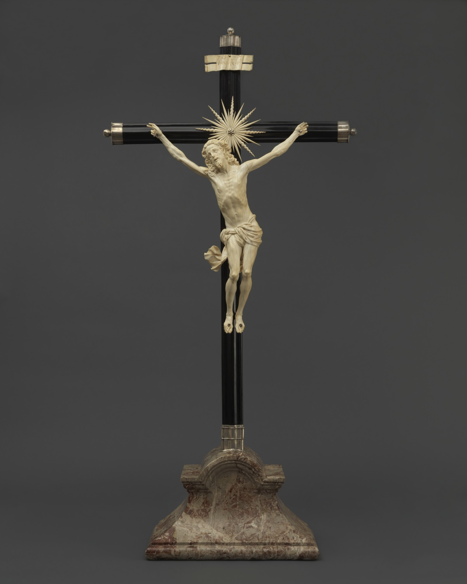 Cristo Vivo, Giovanni Battista Bissoni,called the Veneziano(c.1600-1610 – Genoa – 1657),
