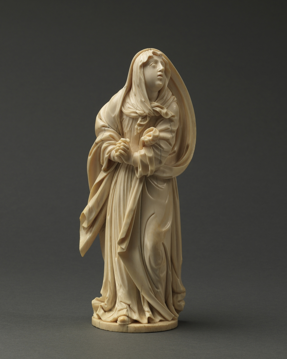 Mourning Virgin, Southern Germany, 17th century