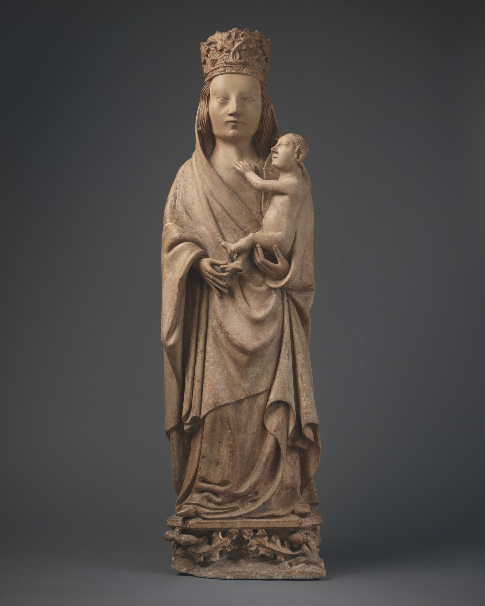 Virgin and Child, France, Basse-Normandie, Cotentin, c. 1400