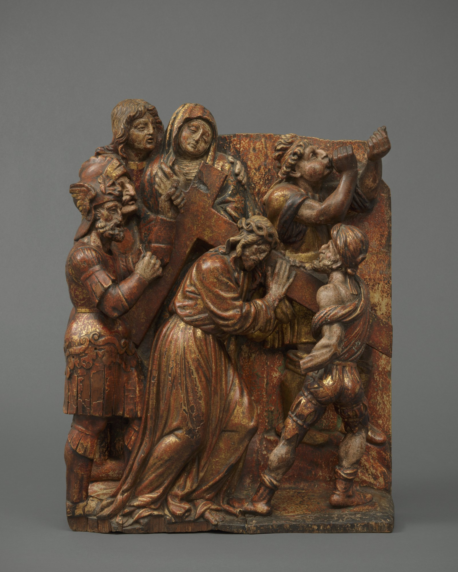 Christ Carrying the Cross, Spain, Castile, Valladolid, mid 16th century